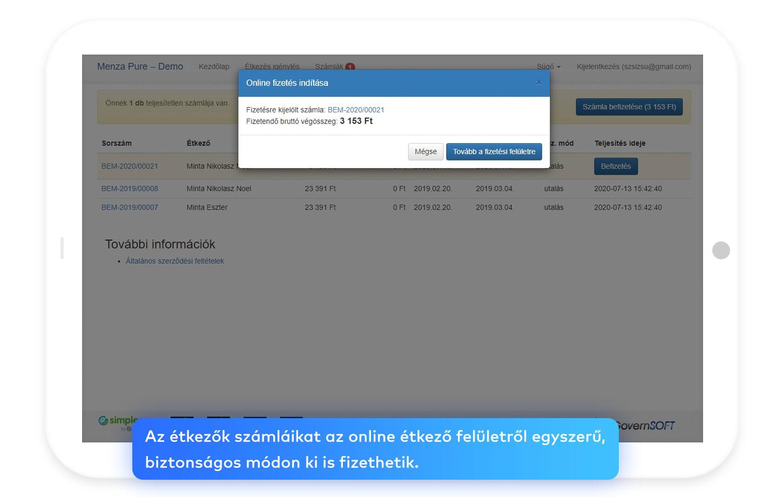 Webes alkalmazás, minden felhasználó egyénileg testre szabhatja, milyen információt akar látni